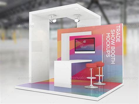 booth design price trade show booth mockups v2 pinteres