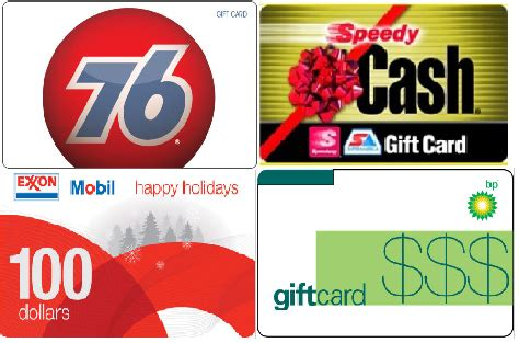 Gas Gift Cards For Sale - gas gift cards on sale via ebay daily deals exxon bp texaco 76 circle k