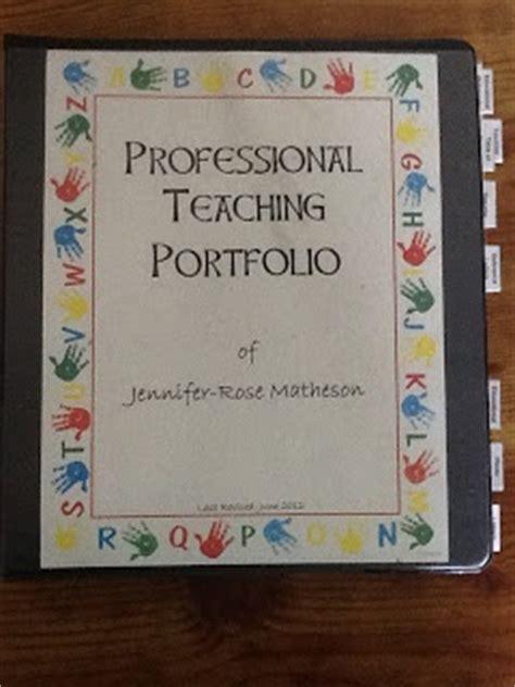 teaching portfolio template free 25 best ideas about portfolio on