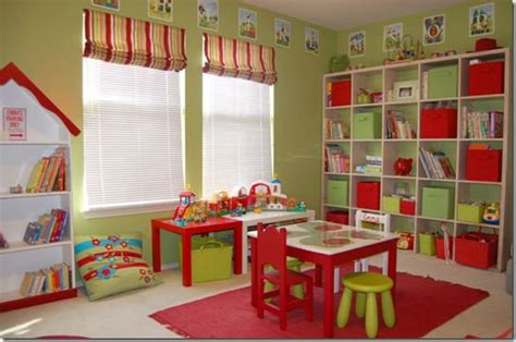 colorful playroom furniture 2016