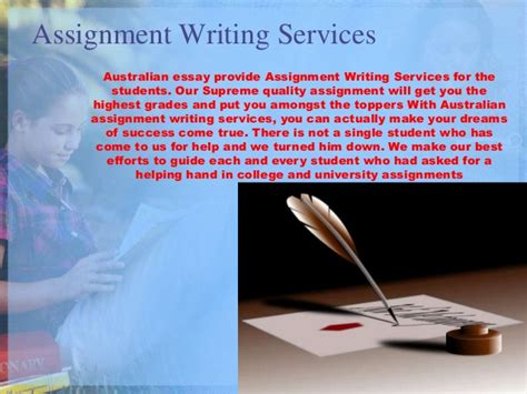 Custom Essay Writing Services Australia by Australian Essay Writing Service