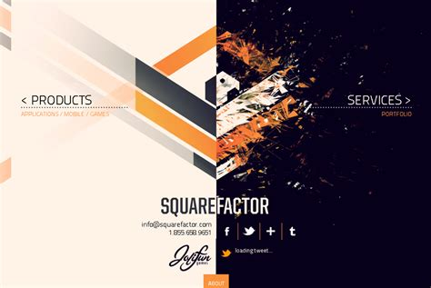 design inspirations 50 awesome websites with extraordinary geometry elements