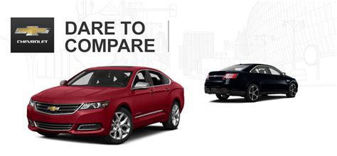 ford taurus vs chevy impala 2015 chevy impala vs 2015 ford taurus
