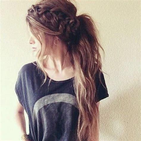 Leuke Haarstijlen Voor Lang Haar by Meer Dan 1000 Idee 235 N Lang Haar Kapsels Op