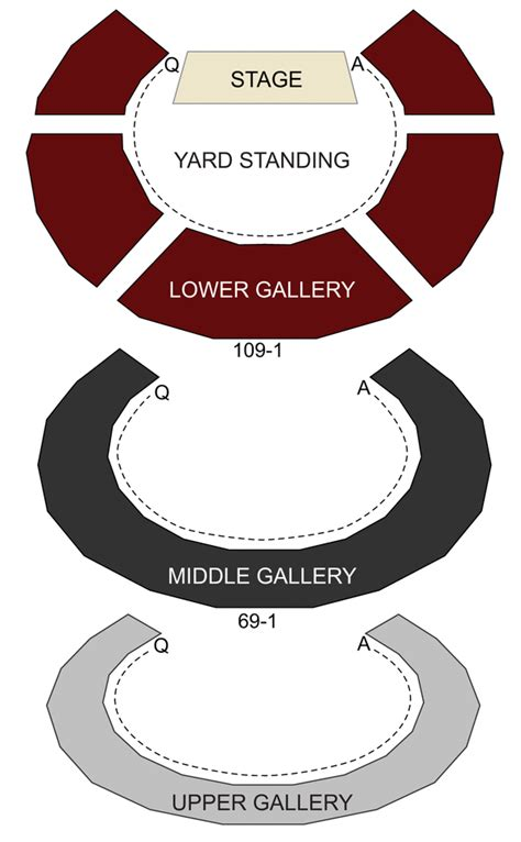 globe theater seats shakespeares globe theatre seating chart stage