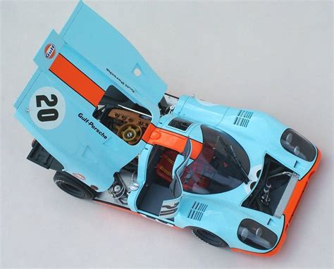 Decal Kit Autoart by Porsche 917k Fujimi Escala 1 24