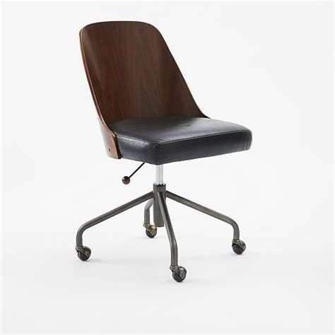 markdowns office furniture bentwood office chair west elm