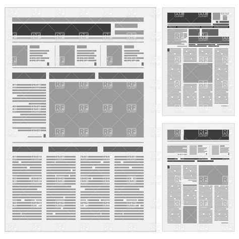 Newspaper Paper Print 183 Free Vector Graphic On Pixabay Generic Newspaper Layout Vector Image Vector Illustration Of Backgrounds Textures Abstract