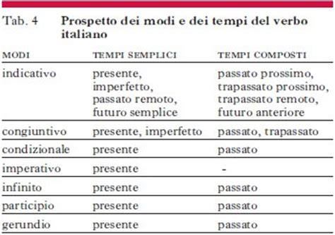 test sui verbi latini morfologia in quot enciclopedia dell italiano quot