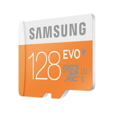 samsung 128gb micro sdxc evo memory card & adapter class 10