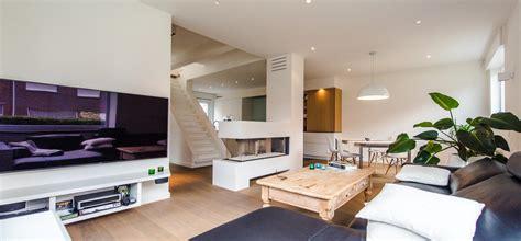 renovatie woonkamer woningbouw renovatie afwerking interieur jef peeters