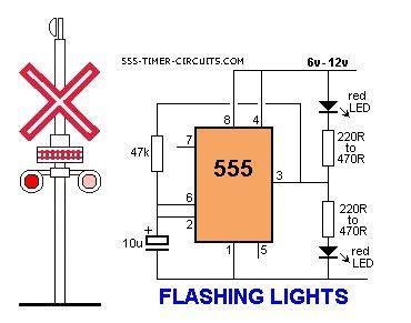 blinking light circuit diagram index 160 circuit diagram seekic