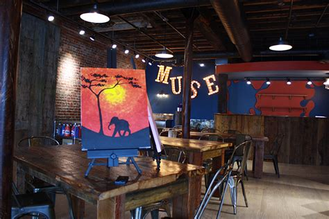 Paint While You Drink Muse Paintbar In Portland Opens