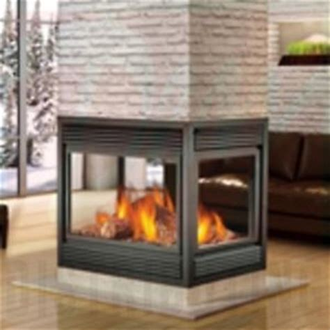 four sided glass gas fireplace model bcnv404 1n home