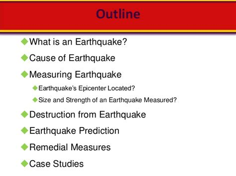 Outline The Causes Of Earthquakes Scheme by Earthquakes In The Eye Of Civil Engineer
