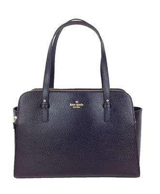 Kate Spade Lydia Leather Brown kate spade grand lydia leather tote bag black