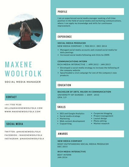 Sports Marketing Resume Examples by R 233 Sum 233 Templates Canva