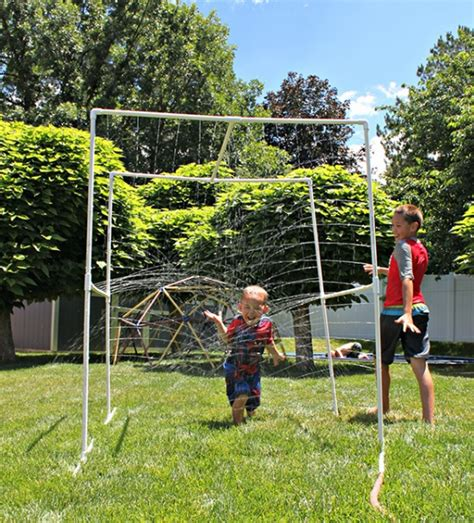 pvc sprinkler water toy 5 summer diy projects using pvc pipe