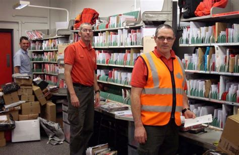 Grimes Post Office by Postal Staff Work The Clock To Get Mail Delivered
