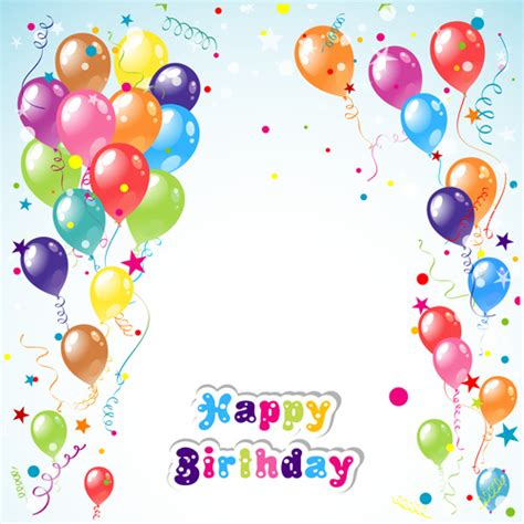 birthday layout vector birthday backgrounds vector free vector download 45 210