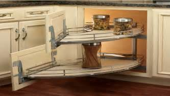 Corner Cabinet Solutions In Kitchens by Corner Shelves On Kitchen Cabinets Kitchen Blind Corner