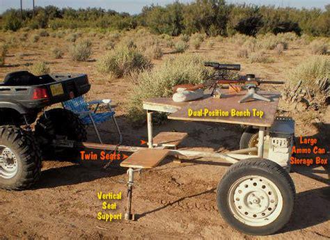 mobile shooting bench war wagon part 2 details of skratch s mobile shooting bench 171 daily bulletin