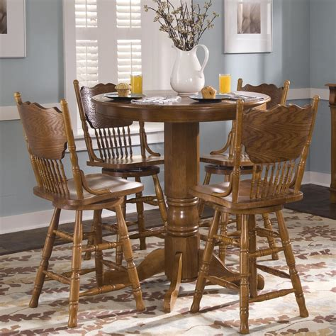 oak pub table and chairs oak pub table by liberty furniture wolf and