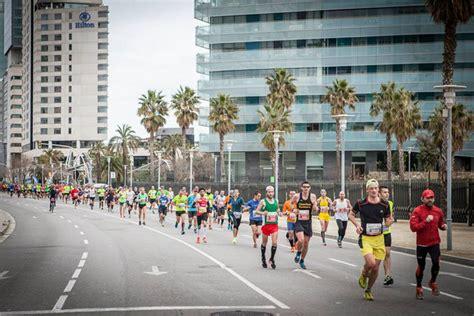 barcelona half marathon barcelona half marathon 2017 obehni svet