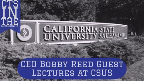 Csus Mba Regional Employer by Teaching Future Sacramento Marketing Leaders
