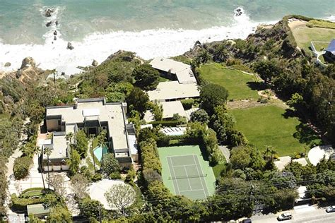 angelina jolie mansion brad pitt and angelina jolie put sprawling malibu mansion on the market for 13 75m daily mail