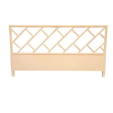 a faux bamboo chinese chippendale style headboard at 1stdibs