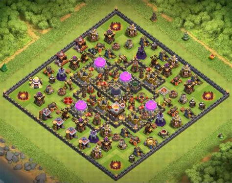 th10 layout names 10 best th10 hybrid bases with 2017 cocbases
