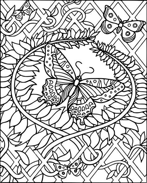 Coloriage Difficile Papillon 224 Imprimer Sur Coloriages Info Coloriage Magique Adulte L