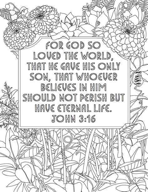 coloring page for john 3 16 jesus is the messiah jesus 5 minute family devotional