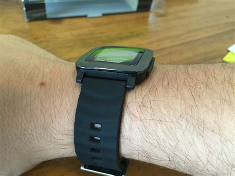 Pebble Time Smartwatch With Silicon Band guide pebble time 3rd bands and straps time smartwatch me