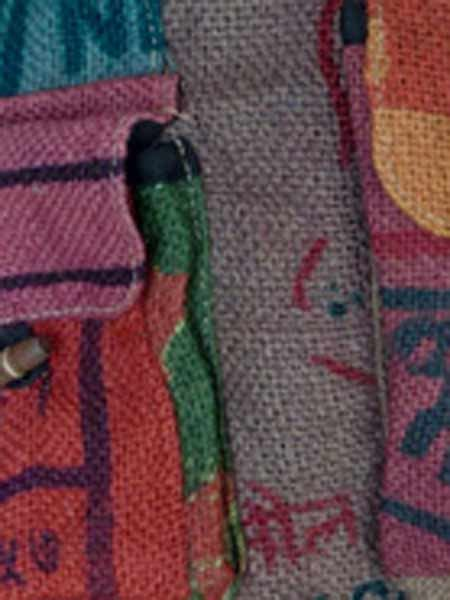 Himalayan Handmades - recycled rice bag backpacks himalayan handmades