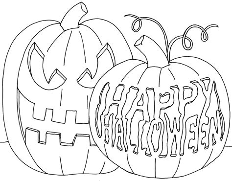 free coloring pages of october