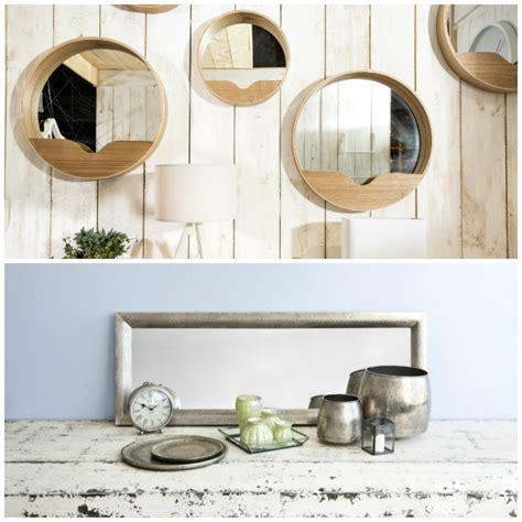 cuadros con espejos cuadros y espejos decorativos trendy set de espejo de
