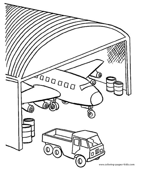 airplane coloring page coloring pages for