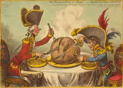 The Plumb Pudding In Danger by Gillray Posters And Prints At