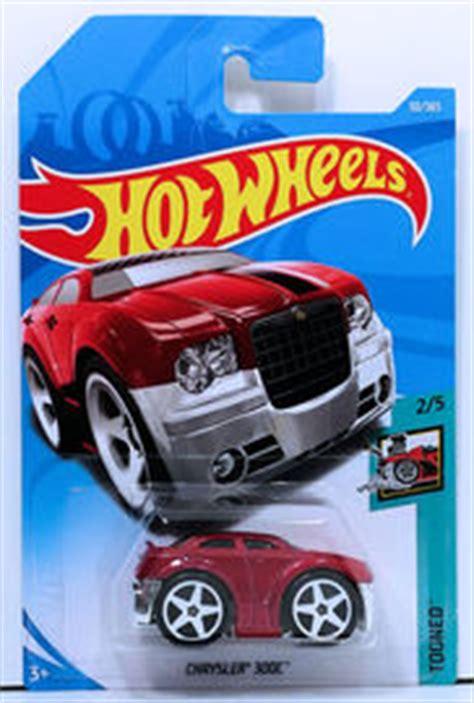 Chrysler 300c Black Colour Tooned Model Hotwheels chrysler 300c blings model cars hobbydb