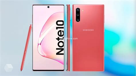 the new samsung galaxy note 10 samsung galaxy note 10 and note 10 reappears in 3 new colors