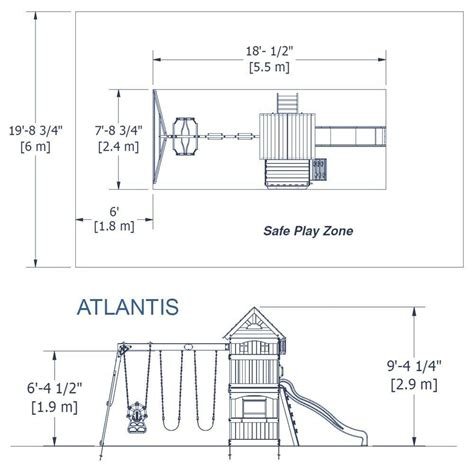 backyard discovery atlantis atlantis wooden swing set playsets backyard discovery