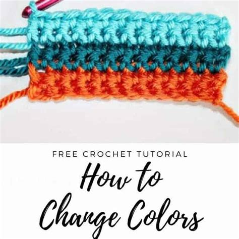 how to change colors in crochet how to change colors in crochet crochet color changing