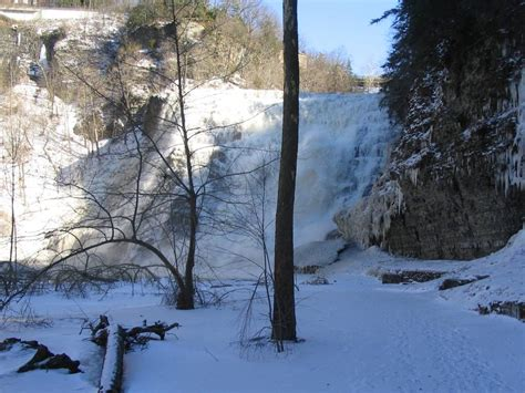 Winter W 31 ithaca falls 31 winter