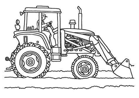 tractor coloring pages tractor trailer coloring page sketch coloring page