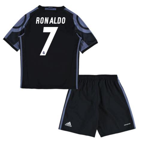 Jersey Bola 7 Ronaldo Real Madrid Third 17 18 Grade Ori Font Ucl 2015 16 real madrid away mini kit ronaldo 7