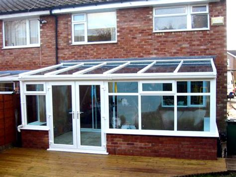 Small Economical House Plans lean to conservatories