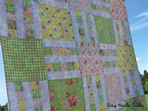 quilt pattern picket fence picket fence 6 sizes layer cake by busyhandsquilts