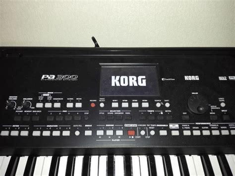 Keyboard Korg Pa300 Baru korg pa300 image 1623946 audiofanzine